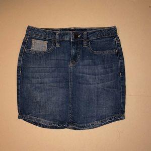gap kids size 10 jeans skirt